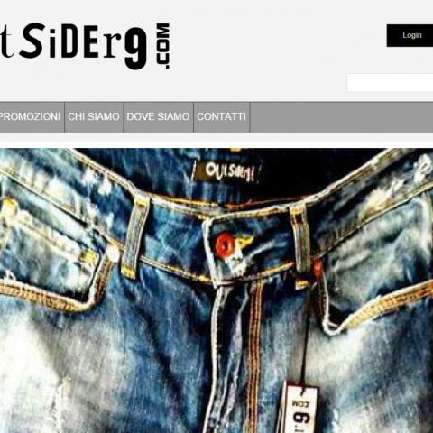 Outsider9 - Abbigliamento SportWear & Minimal