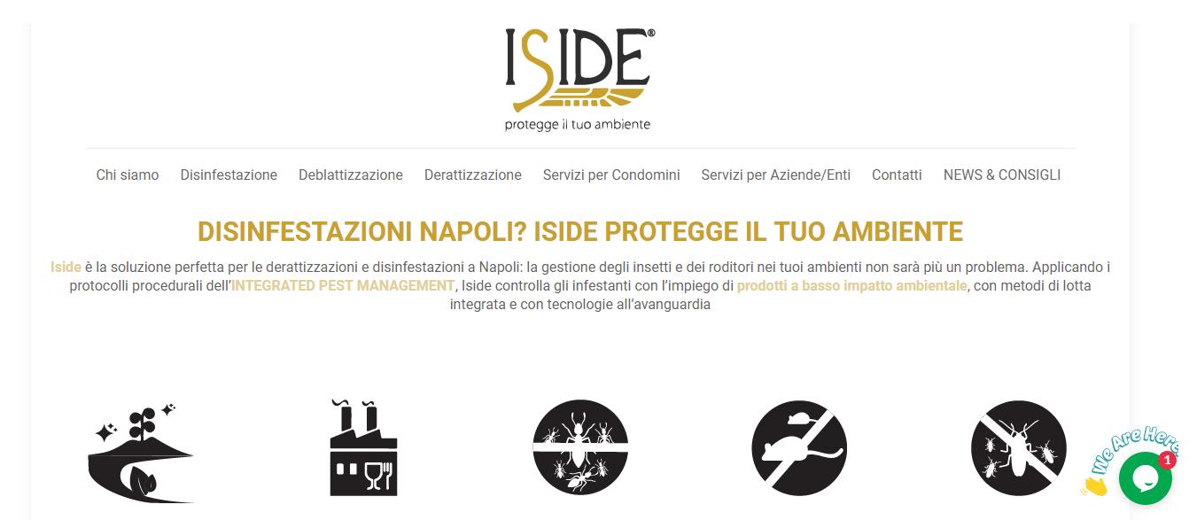 Iside Disinfestazioni Napoli